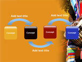 African Drum PowerPoint Template#4