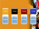 African Drum PowerPoint Template#5