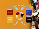 African Drum PowerPoint Template#6