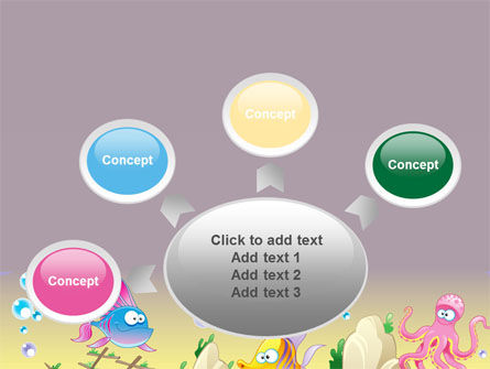 Under the Sea PowerPoint Template Slide 7