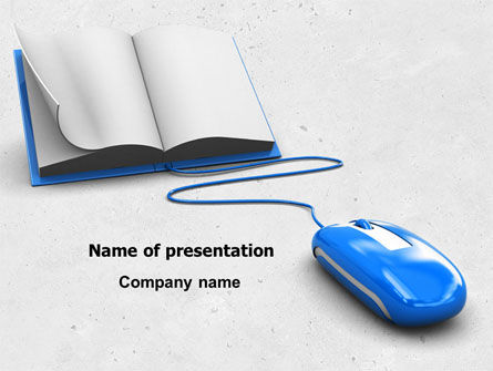 Electronic Book PowerPoint Template