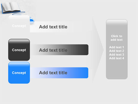 Electronic Book PowerPoint Template Slide 12