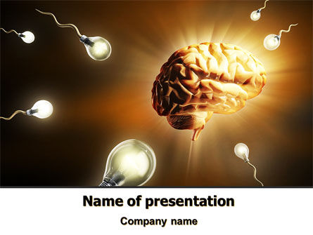 Idea Inception PowerPoint Template, 07747, Consulting — PoweredTemplate.com
