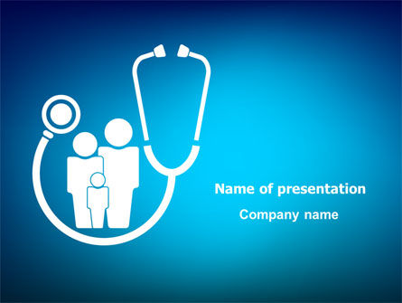 family medicine powerpoint template backgrounds 07748