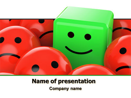 Optimism PowerPoint Template, 07752, Business Concepts — PoweredTemplate.com