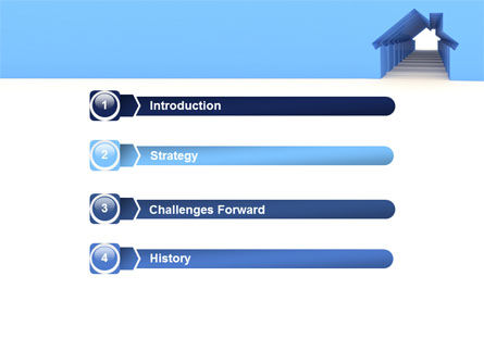 House Perspective PowerPoint Template Slide 3
