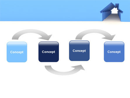 House Perspective PowerPoint Template Slide 4