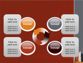 Blocked Exit PowerPoint Template#9