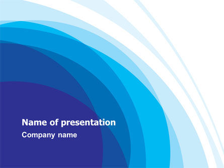 Blue Gradations PowerPoint Template