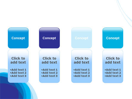 Blue Gradations PowerPoint Template Slide 5
