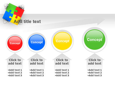 Puzzle Solved PowerPoint Template Slide 13