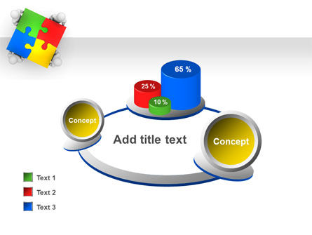 Puzzle Solved PowerPoint Template Slide 16