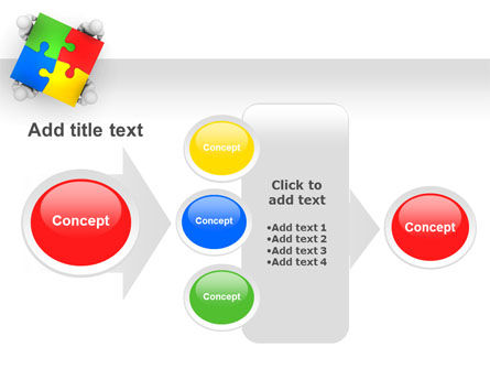 Puzzle Solved PowerPoint Template Slide 17