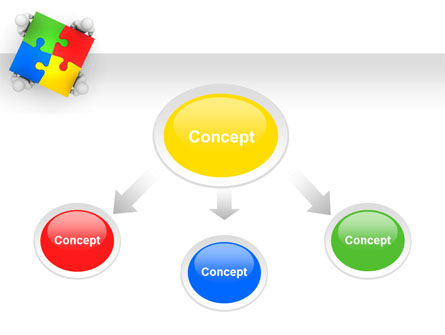 Puzzle Solved PowerPoint Template Slide 4