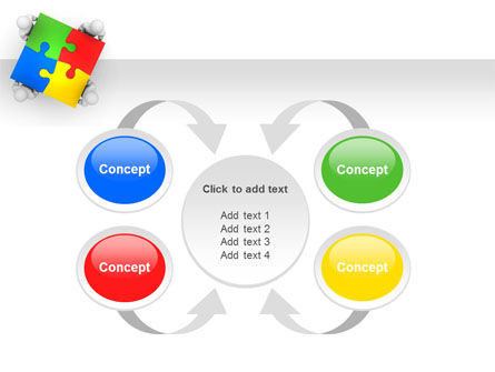 Puzzle Solved PowerPoint Template Slide 6