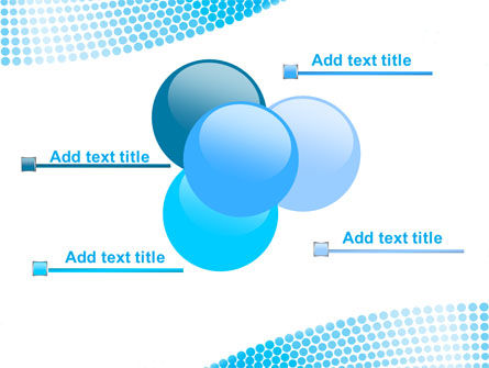 Folded Ribbon Abstract PowerPoint Template Slide 10