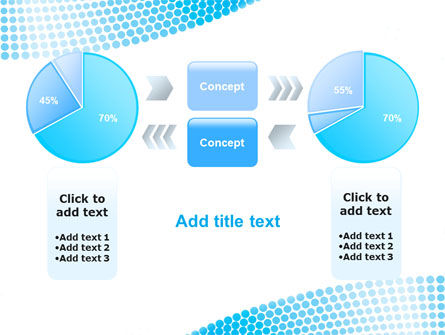 Folded Ribbon Abstract PowerPoint Template Slide 11