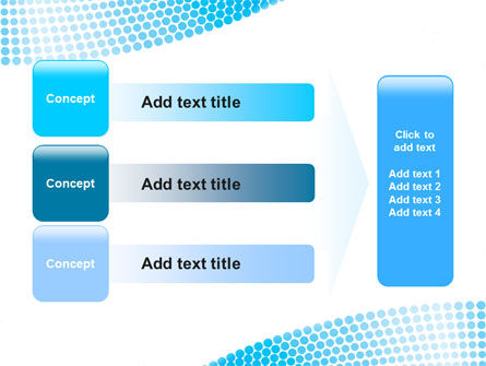 Folded Ribbon Abstract PowerPoint Template Slide 12