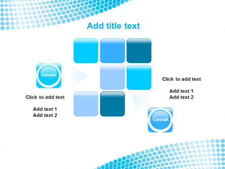Folded Ribbon Abstract PowerPoint Template Slide 16