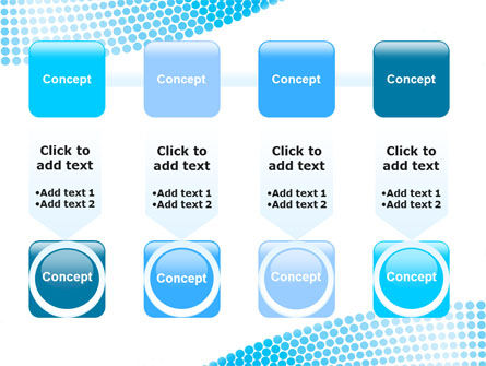 Folded Ribbon Abstract PowerPoint Template Slide 18