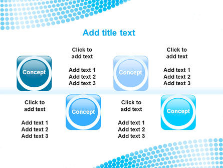 Folded Ribbon Abstract PowerPoint Template Slide 19