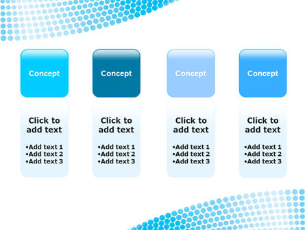 Folded Ribbon Abstract PowerPoint Template Slide 5