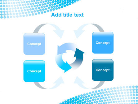 Folded Ribbon Abstract PowerPoint Template Slide 6