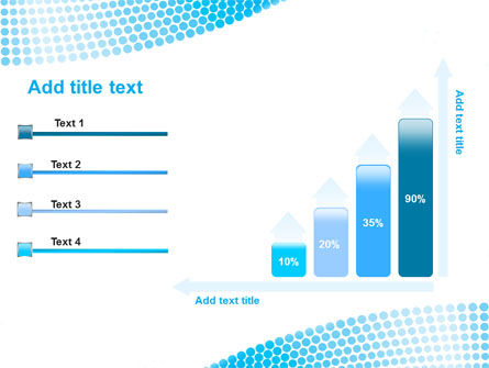 Folded Ribbon Abstract PowerPoint Template Slide 8