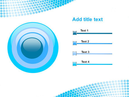 Folded Ribbon Abstract PowerPoint Template Slide 9