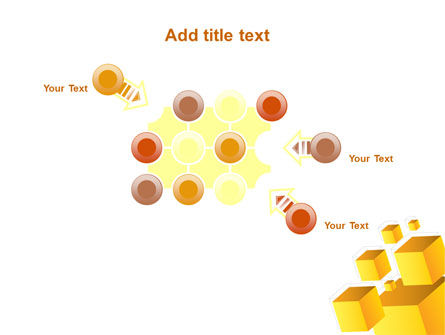 Yellow Cubes PowerPoint Template Slide 10