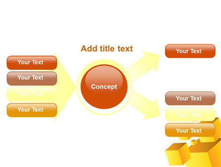 Yellow Cubes PowerPoint Template Slide 15