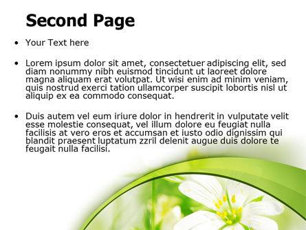 Spring Bloom PowerPoint Template, Slide 2, 07764, Nature & Environment — PoweredTemplate.com