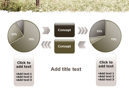 Camouflage Soldier PowerPoint Template Slide 11