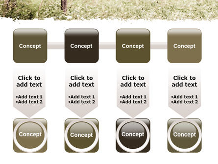 Camouflage Soldier PowerPoint Template Slide 18