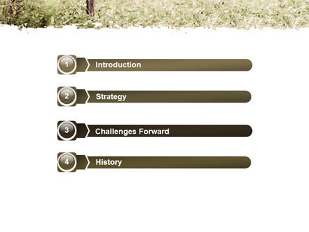Camouflage Soldier PowerPoint Template, Slide 3, 07766, Military — PoweredTemplate.com