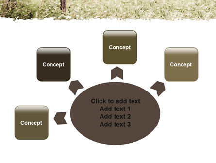 Camouflage Soldier PowerPoint Template Slide 7
