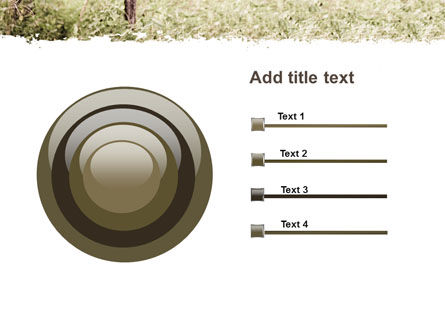 Camouflage Soldier PowerPoint Template Slide 9