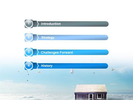 Seventh Heaven PowerPoint Template Slide 3