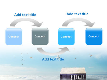 Seventh Heaven PowerPoint Template Slide 4