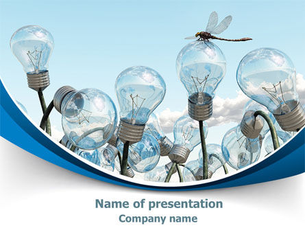 Technology and Science: Idea Cultivation PowerPoint Template #07770