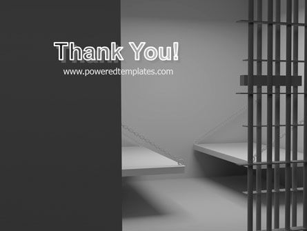 Prison Cell PowerPoint Template Slide 20