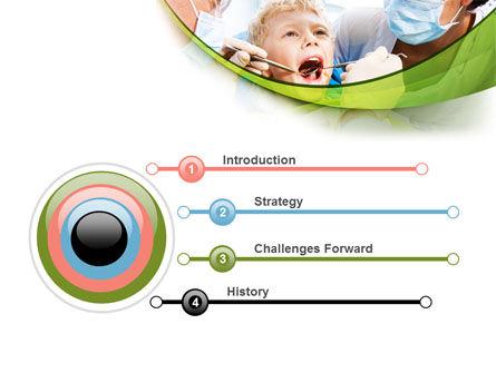 Children's Stomatology PowerPoint Template, Slide 3, 07773, Medical — PoweredTemplate.com
