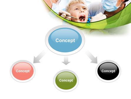 Children's Stomatology PowerPoint Template, Slide 4, 07773, Medical — PoweredTemplate.com