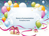 Holiday/Special Occasion: Greeting Card PowerPoint Template #07775