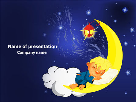 Education & Training: Lullaby PowerPoint Template #07776