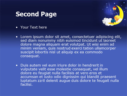 Lullaby PowerPoint Template Slide 2
