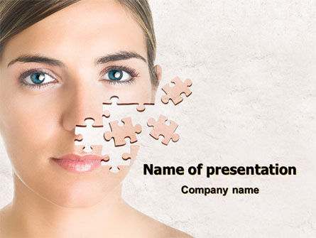 Skin Care PowerPoint Template, 07778, Medical — PoweredTemplate.com