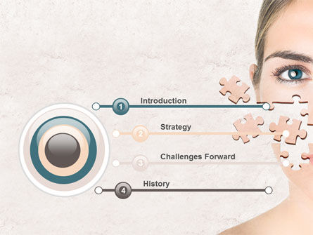 Skin Care PowerPoint Template, Slide 3, 07778, Medical — PoweredTemplate.com