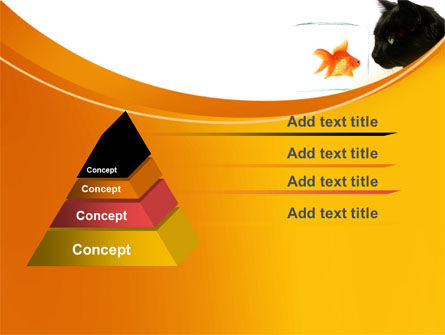 Fish and Cat PowerPoint Template Slide 12