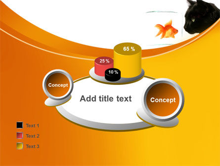 Fish and Cat PowerPoint Template Slide 16